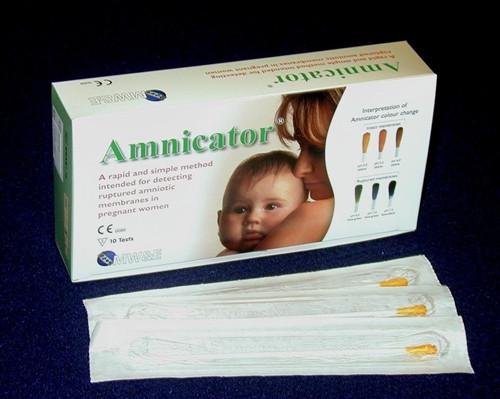 Amnicator Amniotic Fluid Test Swabs 10/bx