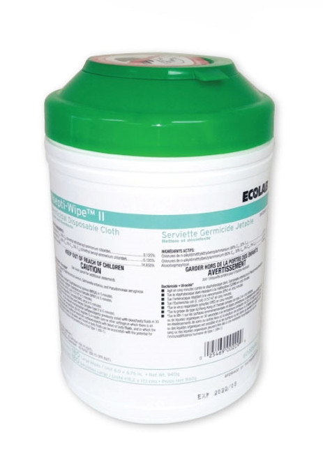 Ecolab Asepti-Wipe II Surface Disinfectant Wipes, 180/tub