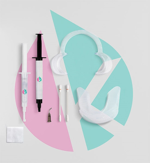 Karisma In-Office 1-Session Whitening Kit Regular Strength, 1 Pre-filled Tray + accessories