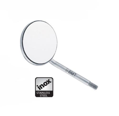 BMT Flat Mouth Mirror Simple Stem Size #4, 12/pkg