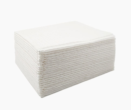 """Graham Professional Towel 3-Ply Tissue 13.5"""" x 18"""" Embossed White 500/Case"""