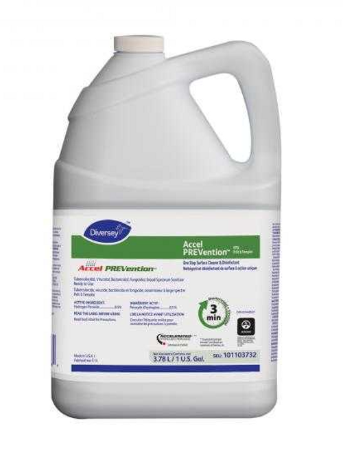 Diversey Accel Prevention Ready To Use Surface Disinfectant 1Gallon/3.78L