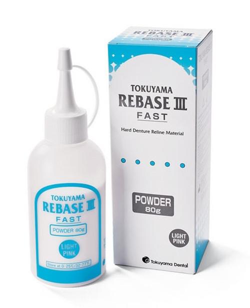 Tokuyama Rebase III Denture Reline Material Powder 80g/bottle