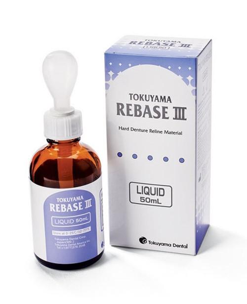 Tokuyama Rebase III Denture Reline Material Liquid 50ml/bottle