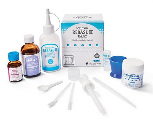 Tokuyama Rebase III Denture Reline Material Kit