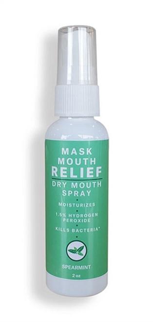 SpaDent Spearmint Dry Mouth Spray 60mL