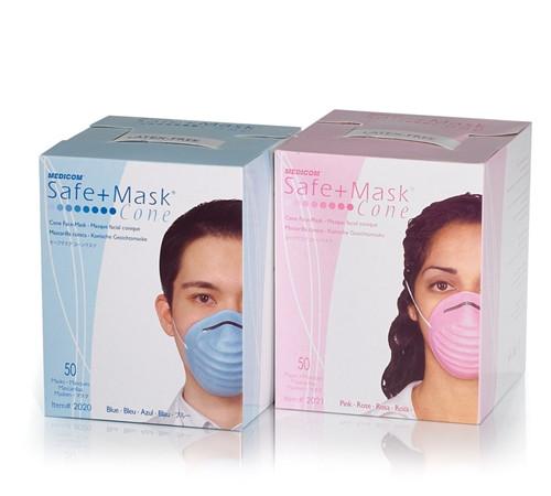 Medicom SafeMask Cone Blue 50/box