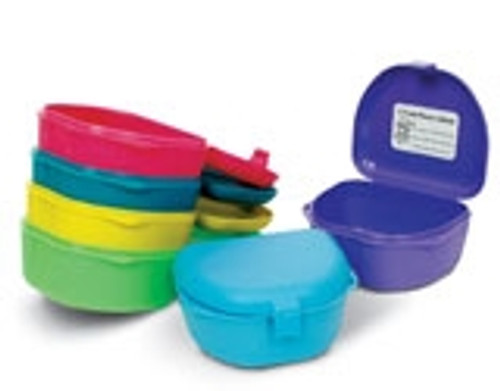 "Zirc Retainer Box 1.5"" Deep Mix of Assorted Colours 12/pkg"