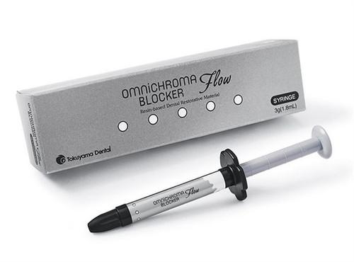 Tokuyama OMNICHROMA Blocker Flow One-Shade Universal Composite Syringe 3g