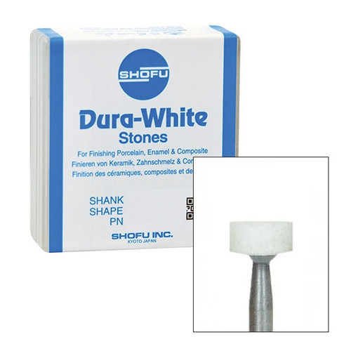 Shofu Dura-White Polishing Stones FG WH1 12/box