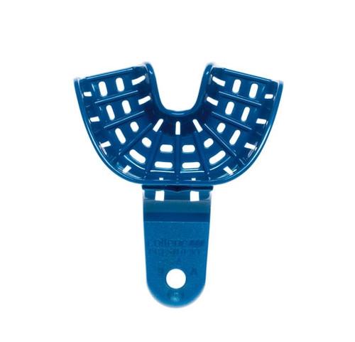 Coltene President Impression Tray Autoclavable Blue #9 Anterior UJ/LJ 12/pkg