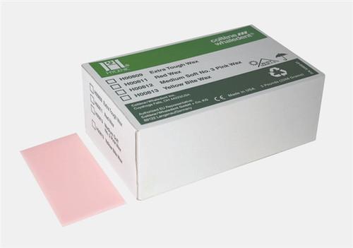 Coltene Hygenic Baseplate Wax Medium-Soft No. 3 Pink 5 lb