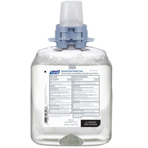 PURELL Advanced Hand Sanitizer Foam 1200 mL Refill for PURELL FMX-12 Dispenser