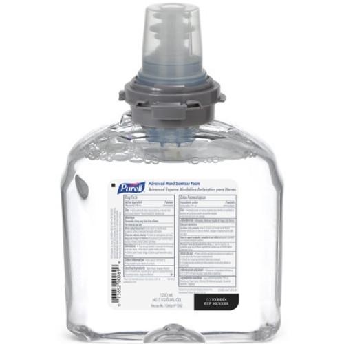 PURELL Advanced Hand Sanitizer Foam 1200 mL Refill for PURELL TFX Dispenser