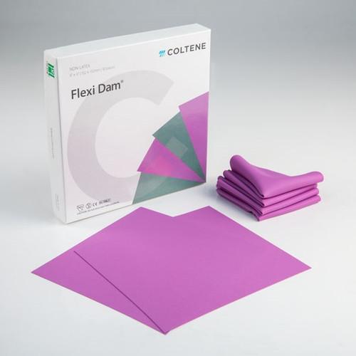 """Coltene Hygenic Non Latex Flexi Dam 6""""x6"""" Medium Purple 30/box"""