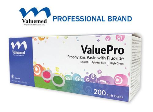Valuemed Professional Products ValuePro Prophy Paste Medium Mint Unit Dose 200/box