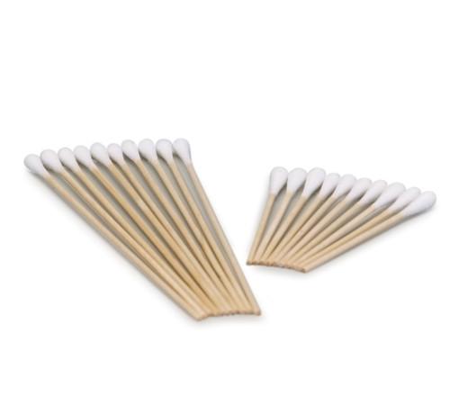 """Cotton Tip Applicators 6"""" Sterile 2/pkg 100pkg/box"""