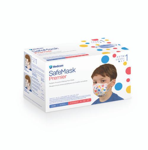 Safemask Premier Earloop Level 1 Child Mask 50/box