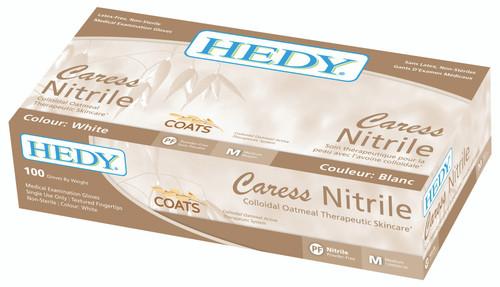 HEDY Coats Caress Nitrile Powder Free Gloves 100/box Small