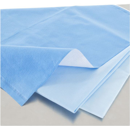 "HALYARD Quick Check H300 Sterilization Wrap 24"" x 24"" (60cm x 60cm) 240/case"