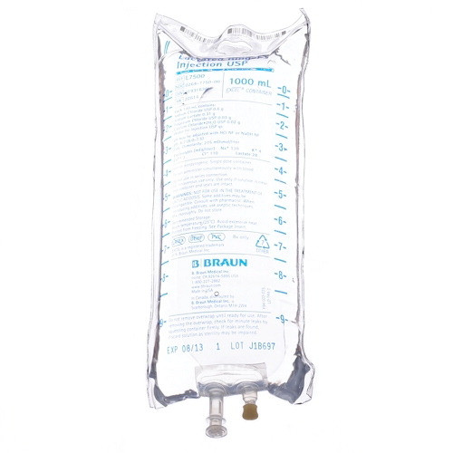 1000 ml B. Braun Lactated Ringer's Injections USP