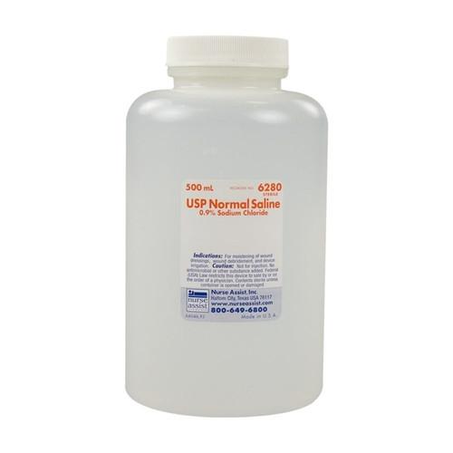 Normal Saline (0.9% Sodium Chloride) Irrigation 1000ml Bottle