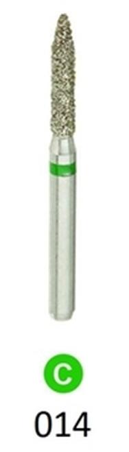 1Diamond Sterile Diamond Burs Flame 862-014