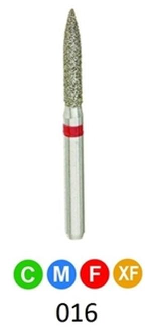1Diamond Sterile Diamond Burs Flame 862-016