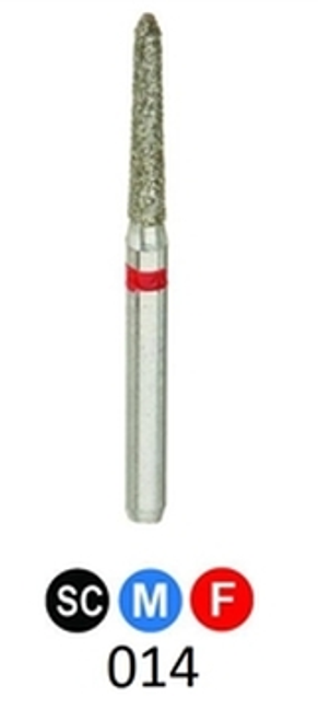 1Diamond Sterile Diamond Burs Modified Chamfer 878K-014, 25/pkg
