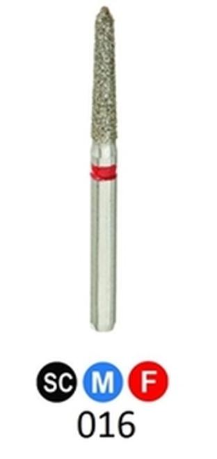 1Diamond Sterile Diamond Burs Modified Chamfer 878K-016, 25/pkg