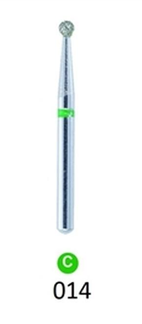 1Diamond Sterile Diamond Burs Round 801-014  Grit 25/pkg