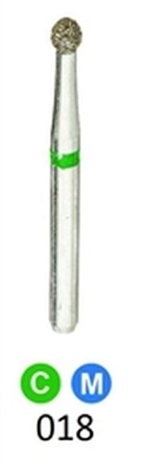 1Diamond Sterile Diamond Burs Round 801-018 25/pkg
