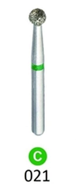 1Diamond Sterile Diamond Burs Round 801-021 25/pkg