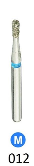 1Diamond Sterile Diamond Burs Pear 830-012 Medium Grit 25/box