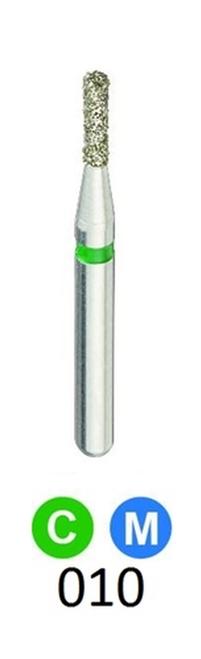 1Diamond Sterile Diamond Burs Flat End Cylinder 835-010