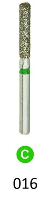 ValuDiamond Burs Flat End Cylinder 837-016 Coarse, 10/pkg