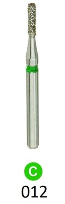 ValuDiamond Burs Flat End Cylinder 835-012, Coarse 10/pkg