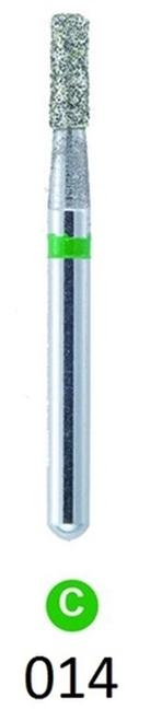 ValuDiamond Burs Flat End Cylinder 835-014, Coarse 10/pkg
