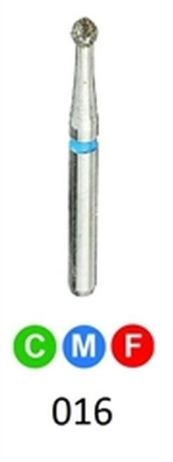 ValuDiamond Diamond Burs Round 801-016, 10/pkg