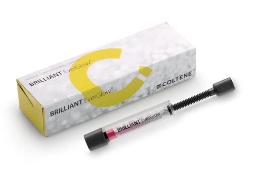 Coltene Brilliant EverGlow Universal Submicron Hybrid Composite Syringes, 3g