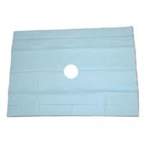 "Sterile Drape Sheet Fenestrated 18"" x 26"" box/50"