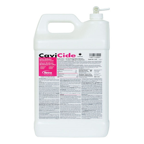 CaviCide Surface Disinfectant Liquid 2.5 Gallon 3 Minute