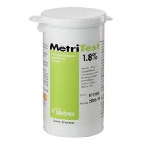 MetriTest 1.8% Test Strips for Metricide 28 and MetriCide 30, 60/bottle, 2bottles/box