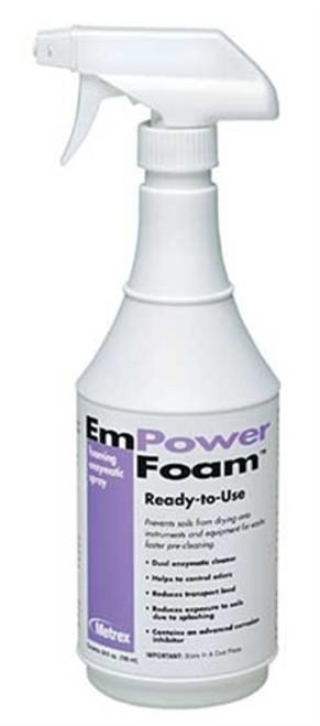 EmPower Foam Dual Enzymatic Instrument Pre-Cleaner 24oz Spray Bottle