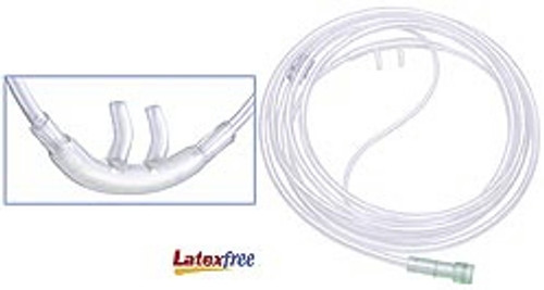 Adult Nasal Cannula with 7' Tubing