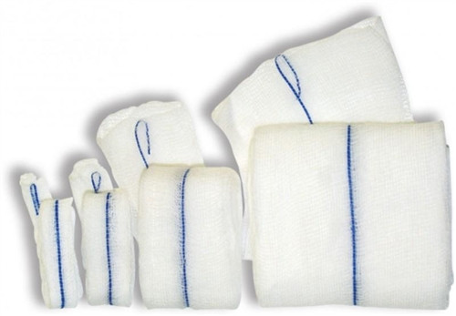 """OR Packing Gauze X-Ray Detectable 2"""" x 42"""" 1/pkg, 50pk/case"""