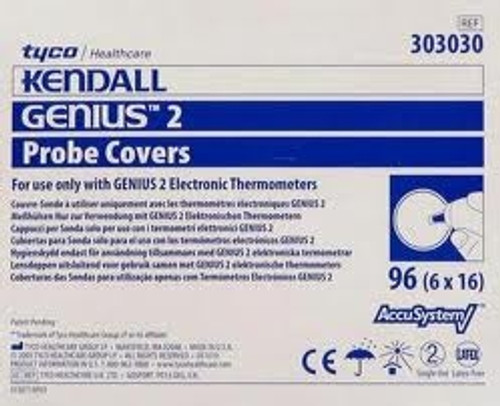 Disposable Probe Covers for Genuis 2 Thermometer 96/box