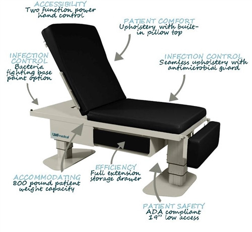 5005 Bariatric Table