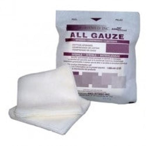 """Sterile Gauze 8"""" x 4"""" 12ply, 10/pkg 10pkg/tray"""