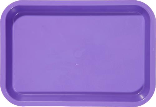 """Zirc Mini Tray 9-3/8"""" x 6-3/8"""" x 7/8"""" Purple"""